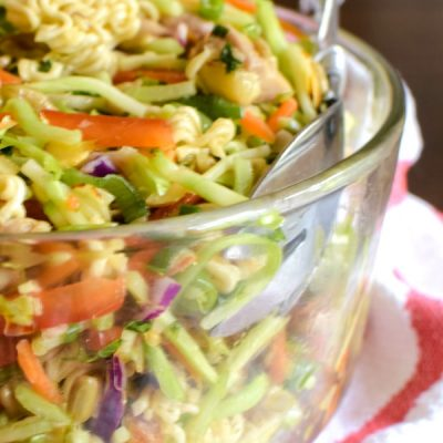 Ramen Broccoli Slaw Recipe A Crunchy Asian Coleslaw Salad
