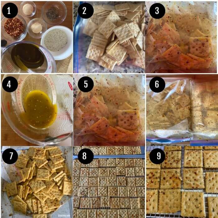 Step by Step Collage Preparation for party crackers.